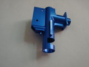 China Голубым анодированные алюминием подвергли механической обработке части оружия игрушки запасные с КНК, который on sale