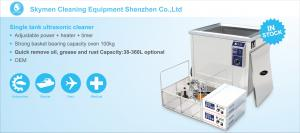 China Industrial Compressors Ultrasonic Cleaning Machine Stainless Steel 3600W on sale