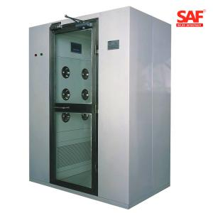 China Electronical Clean Room Air Shower Dust Free Stainless Steel 304 Material on sale