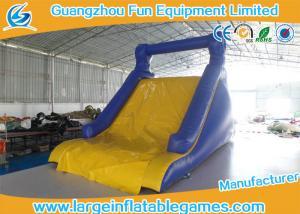 China EN14960 Giant Outside Children Inflatable Floating Water Slide Rental on sale