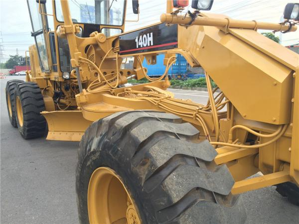 Buy cheap Second Hand Compact Motor Grader Caterpillar 140 2800hrs Wihout Oil Leakage from wholesalers