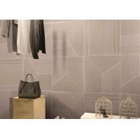 Camal Carpet Look Porcelain Tile / Home Indoor Carpet Tiles CE Certified