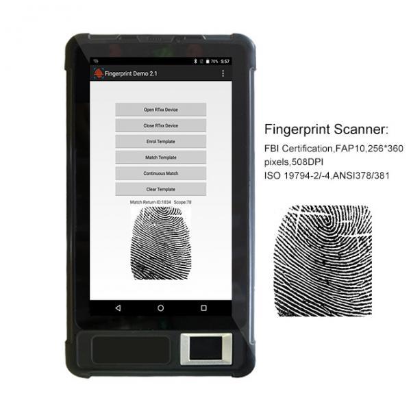 HFSecurity FP07P ODM/OEM Dual SIM Biometric Tablet