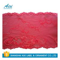 China Stretch Lace Nylon Embroidery Lace Fabric Spandex Lycra Lace Fabric on sale