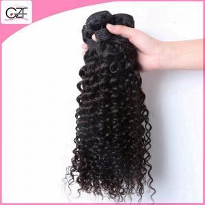 China Virgin Human Hair Factory Hair Kinky Afro Curly Wave Cheap Brazillian Hair Weaves on sale