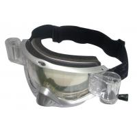 China Adult Sporting Goggles With Double-Layer Anti-Fog Lenses , Removable Nose Cover on sale