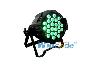 China DMX 512 Led Par Light 24×10W RGBW Four In One Indoor For Stage Decorate on sale