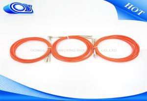 China OM2 fiber jumper cables 50 / 125 Multimode , Fiber Optic LC - SC Patch Cord on sale