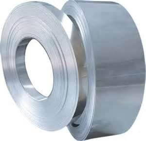 China YB / T025 - 92 high intensity Carbon Structured Blue Cold Rolled Steel Strip for bundling on sale