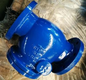 China DI Construction Flanged Swing water check valve with Cast iron / Ductile Iron DIN 3202 F6 on sale