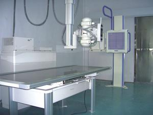 China High-frequency Mobile Digital Radiography Equipment , Portable Medical X Ray Equipment on sale