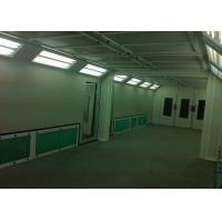 China Bodyshop Gas Burner Paint Spray Booth Roller Door Combined Mixing Room on sale