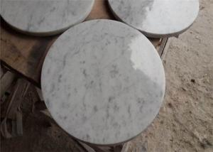 huge inventory available save off Classic Carrara Marble Table Top , Round Coffee Table Top ...