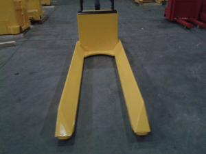 China Customized Warehouse Lift Equipment Electric Pallet Truck with Long Fork Length on sale