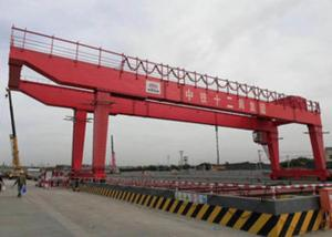 China Single Beam Gantry Crane , Electric Hoist Gantry Crane With The Lightness Structure on sale