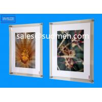 high quality small MOQ cheap price custom made wall mounted picture frames