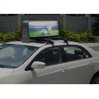 China IP65 High Definition Taxi Top Led Display 55296dots / set Physical density on sale
