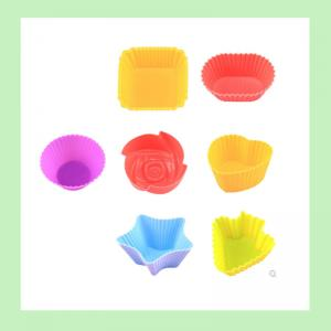 China silicone cupcake mold ,silicone cupcake case on sale
