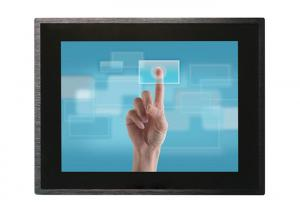 China Aluminum Alloy Material 15 Inch Touch Screen Monitor With 6mm Tempered Glass Panel on sale