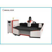 Raycus IPG Water Chiller CNC Fiber Laser Cutting Machine For Carbon Metal Sheet