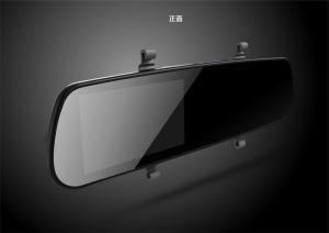 China 8GB MIC LCD GPS 720P Car DVR Rear View Mirror 5 inch 800 X 480 pixel on sale
