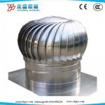Industry Workshop Wind Roof Turbo Ventilator No Power Exhaust Fan 600mm Size Stainless Steel Material