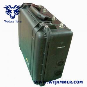 China Briefcase Shape IR Laser Telescope Long Distance Jamming Uav Drone Signal Jammer on sale