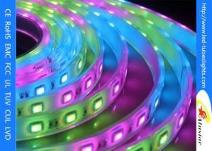 China White 28W IP65  Flexible 24V LED Strip Lights For Home , Night Club Ornament on sale