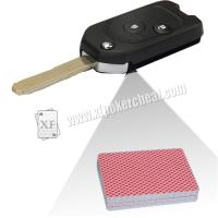 Custom Car Key Camera Poker Card Reader Side Marked Cards Forecast Poker Cheat Tools