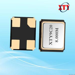 China XTY 3.2*2.5mm seam sealed ceramic Quartz Crystal 8mhz 8.000 mhz Oscillator 12pf 10ppm 4P SMD wholesale
