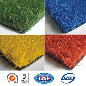 China 10 Years 14000 Dtex Artificial Grass Sports Flooring Roll on sale