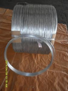 China 15# hot galvanized steel wire on sale
