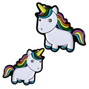 China Different Kinds Of Unicorn Custom Soft Enamel Lapel Pins / Soft Enamel Lapel Pins on sale