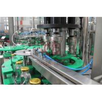 Fresh Apple Beverage Glass Bottle Hot Juice Filling Machine With Return System
