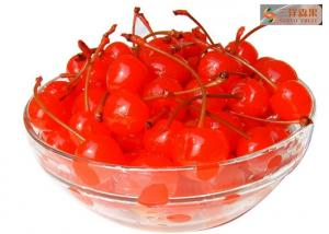 China Healthy Red Tropical Canned Fruit Sweet Cherries With 14 - 17% Syrup on sale
