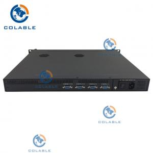 China MPEG -4 AVC H.264 16 Channel Analog AV To IP Converter SD Encoder COL5116A on sale