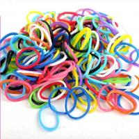Customized Sports Silicone Bracelets Eco - Friendly Rainbow Looms With SGS