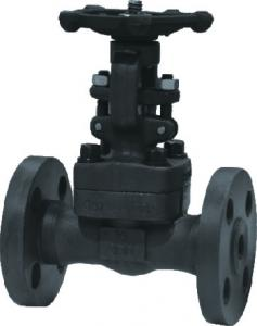 China A105 Flanged RF gate valve,  forged carbon steel api manual handwheel gate valves on sale