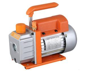 China 110V Single-Stage Rotary Vane Vacuum Pump 1/3HP Air Conditioning Tool on sale