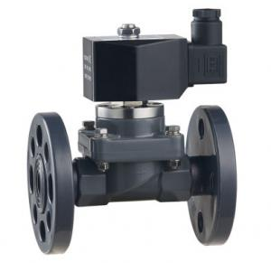 China ZCF-P-F/H series 2-way flange and quick fitting anti-corrosive solenoid valve  DN15~40mm on sale