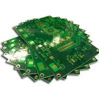 2 Layer Double Side PCB Board Gold Plating For Industry Control System