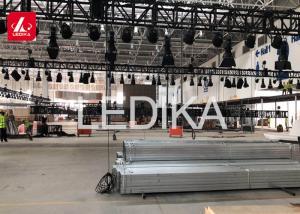 China Unique Aluminum Square Truss Structure , Event Stage Lights Exhibition Truss on sale