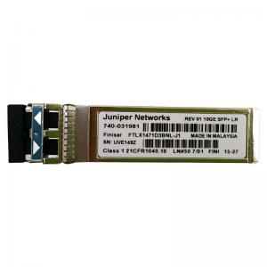 China 100% Original New Juniper 10G SFP Transceiver Module LR 1310nm FTLX1471D3BNL-J1 on sale