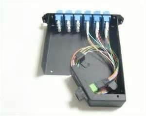 China 1U棚はMPO箱が付いているMM MPOのパッチ盤/MPOカセットを取付けました on sale