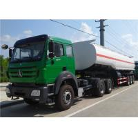 China Beibei / HOWO Tractor Truck + 3 axle 42000L 45000 L 50000 L Oil Tanker / Fuel Tank Truck Trailer on sale