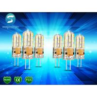 Dimmable G4 Light Bulb LED Corn Crystal Lamp Lighting Silicone Body 95Lm / W