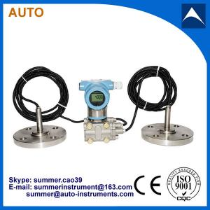 China Double Flang connection Differential Pressure Level Transmitter with Remote Diaphragm Seal on sale