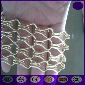 China 1mx2m metal drapery aluminium chain fly screen curtain for door on sale