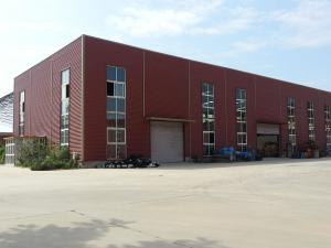 China Supermarket And Logistic Warehouse Steel Structure Quick To Fabricat supplier