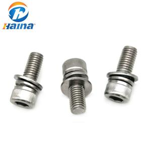 China Hex Socket Cup Head Sem Stainless Steel Machine Screws Cold Forging Process on sale